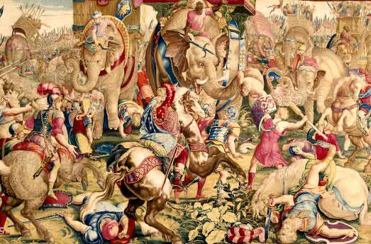 274-272 : First Syrian Wars between the Lagids and Seleucides<br/>264-241 : Première Guerre Punique<br/>218-201 : Deuxième Guerre Punique