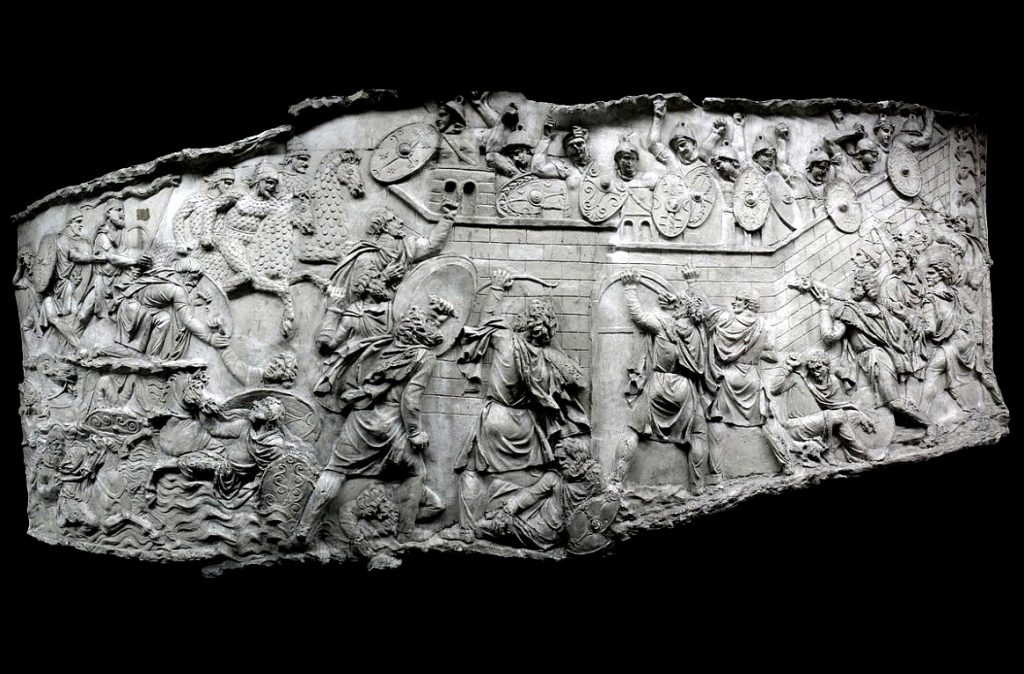 114-117 : Trajan's Parthian War<br/>166-180 : Marcomanes war<br/>197 : Battle of Lyon